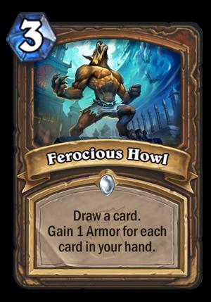 Ferocious Howl Card
