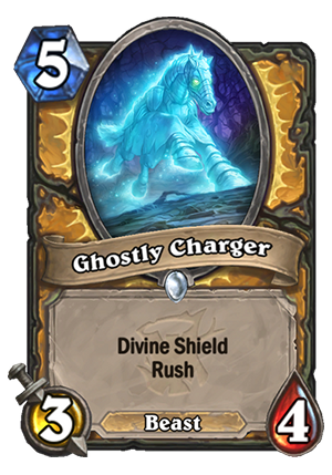 Ghostly Charger Card