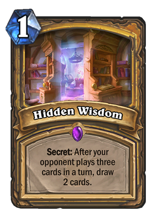Hidden Wisdom Card