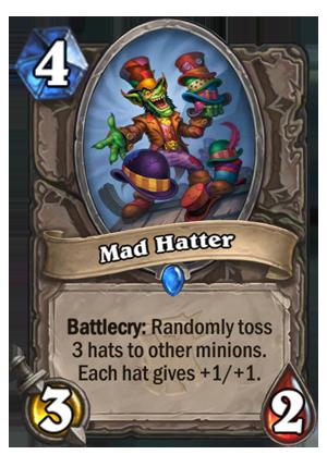 Mad Hatter - Hearthstone Card - Hearthstone Top Decks