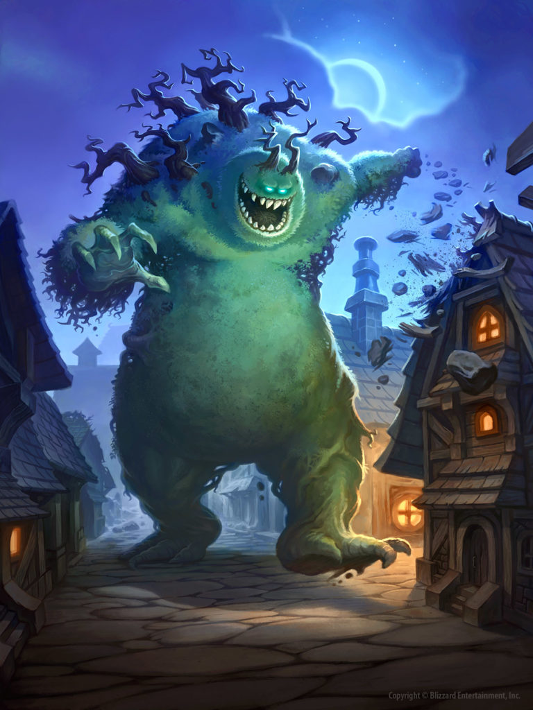 Mossy Horror Full Art