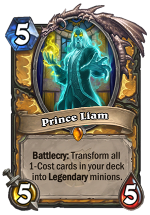 Prince Liam Card