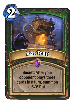 Rat Trap Card