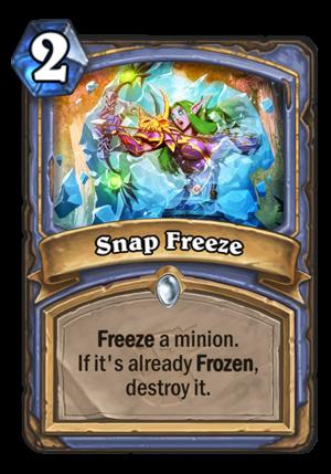 Snap Freeze Card
