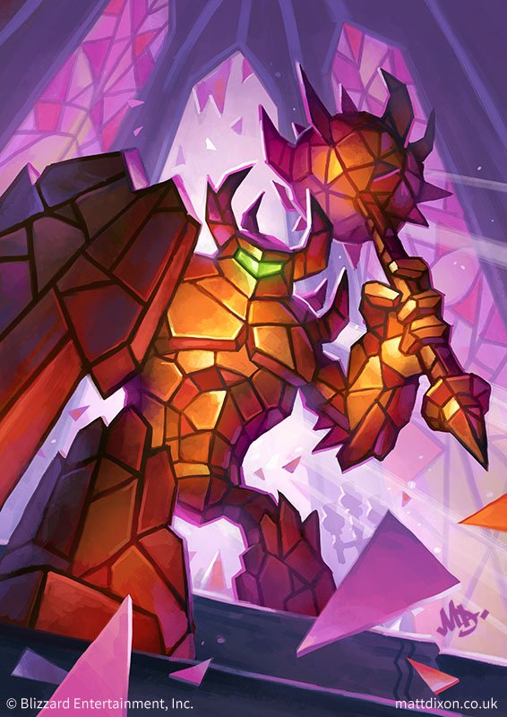 The Glass Knight Full Art