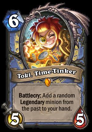 Toki, Time-Tinker Card