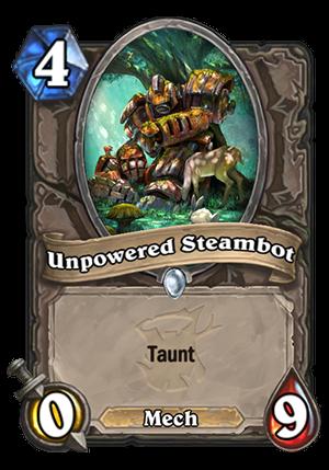 Unpowered Steambot Card