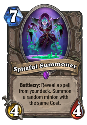 Spiteful Summoner Card