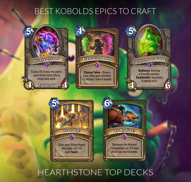 Hearthstone Best Warrior Cards To Craft