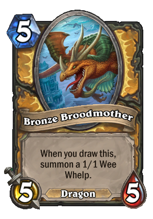Bronze Broodmother Card