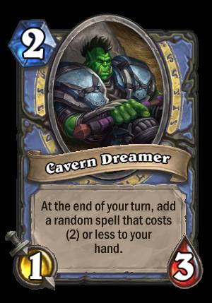 Cavern Dreamer Card