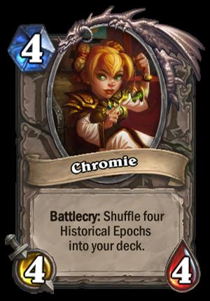 Chromie Card