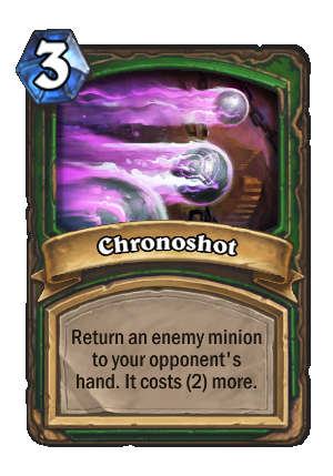 Chronoshot Card