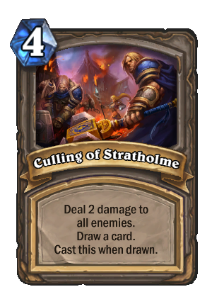 Culling of Stratholme Card