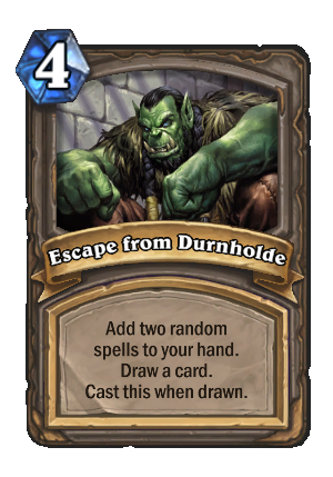 Escape from Durnholde Card