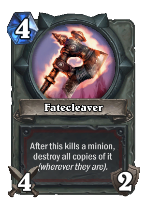 Fatecleaver Card