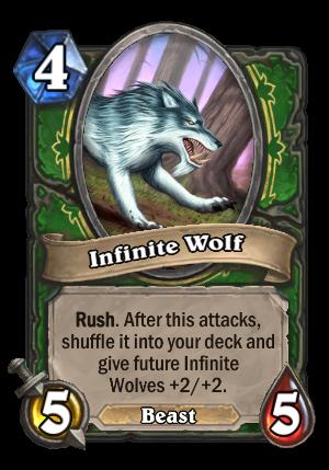 Infinite Wolf Card