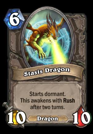 Stasis Dragon Card