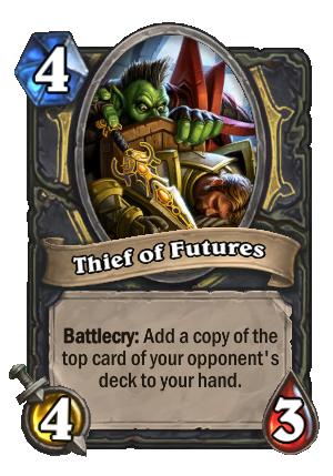 Thief of Futures Card