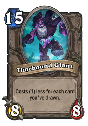Timebound Giant Card