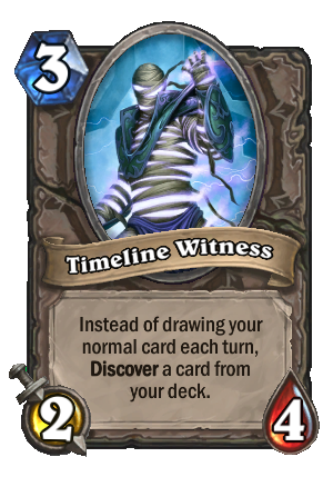 Timeline Witness Card