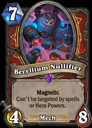 Beryllium Nullifier Card