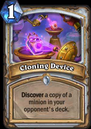 Cloning Device Card