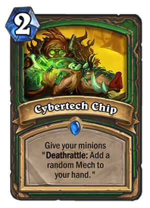Cybertech Chip Card