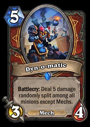 Dyn-o-matic Card