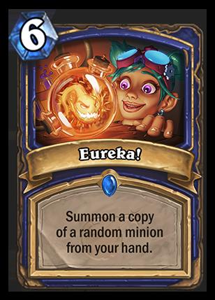 Eureka Hearthstone Card Hearthstone Top Decks