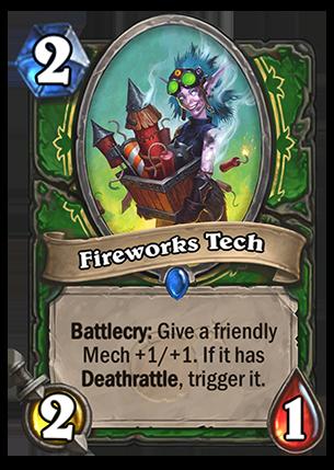 Fireworks Tech - Hearthstone Card - Hearthstone Top Decks