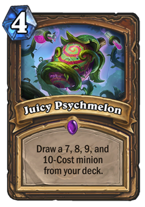 Juicy Psychmelon Card