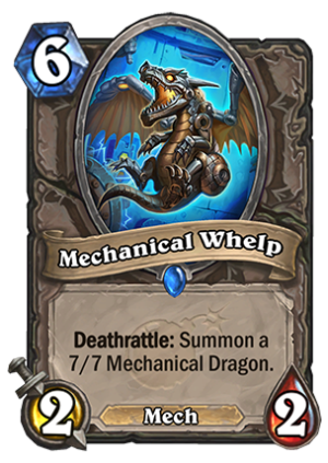 Mechanical Whelp Card