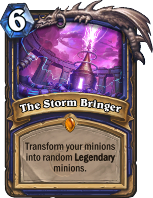 The Storm Bringer Card