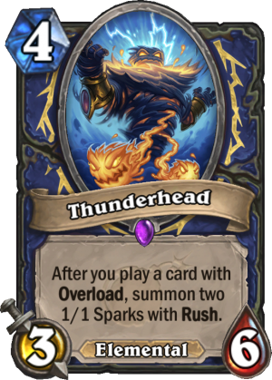 Thunderhead Card