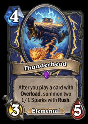 Thunderhead Card