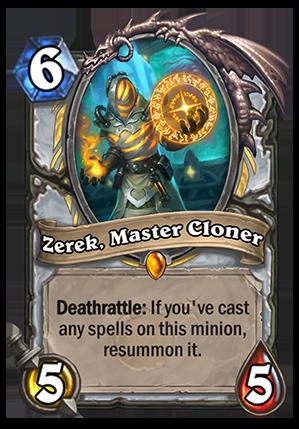 Zerek, Master Cloner Card