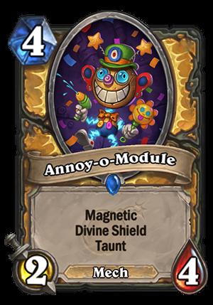 Annoy-o-Module Card