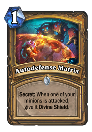 Autodefense Matrix Card