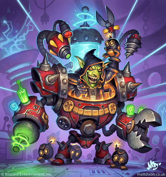Dr. Boom, Mad Genius Full Art