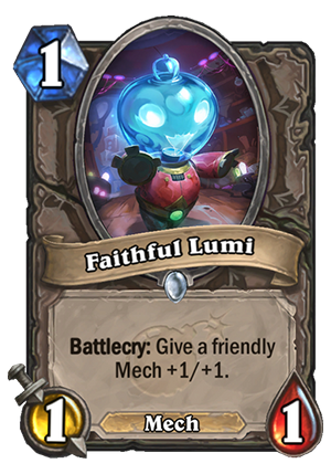 Faithful Lumi Card