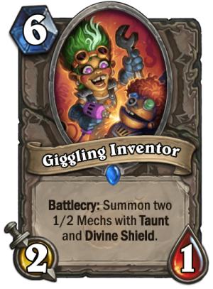 Giggling Inventor Card
