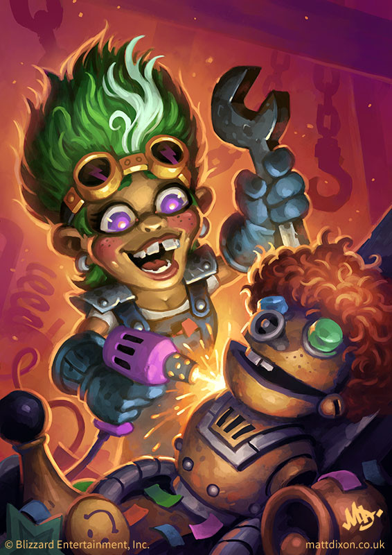 Giggling Inventor Full Art