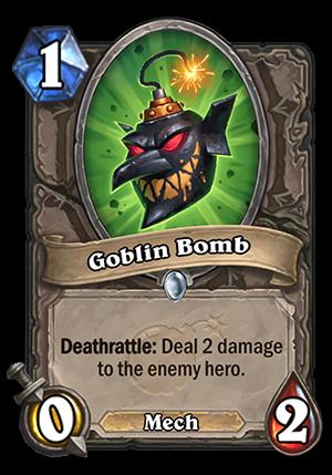 Goblin Bomb Card