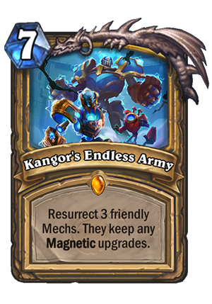 Kangor's Endless Army Card