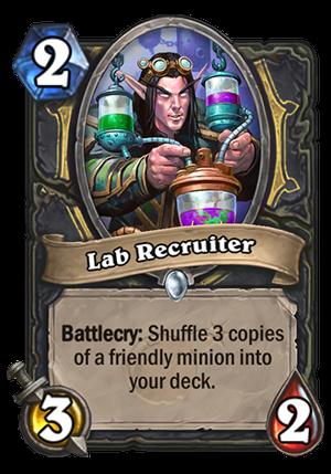 Lab Recruiter Card