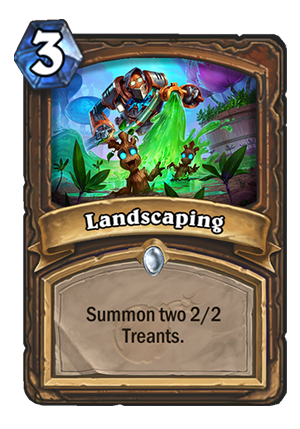 Landscaping Card
