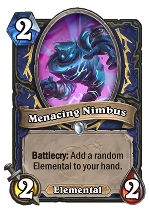 Menacing Nimbus Card