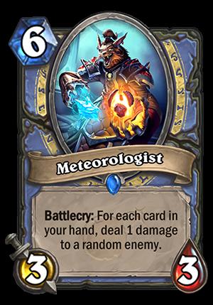 Meteorologist Card