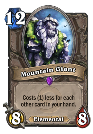 Mountain Giant Card